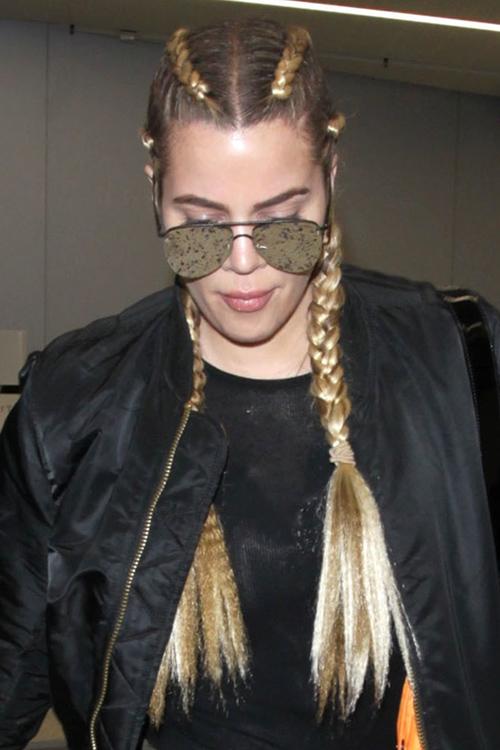 Khloe Kardashian's Hair